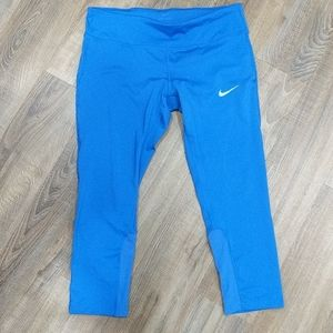 Nike dri-fit running capris